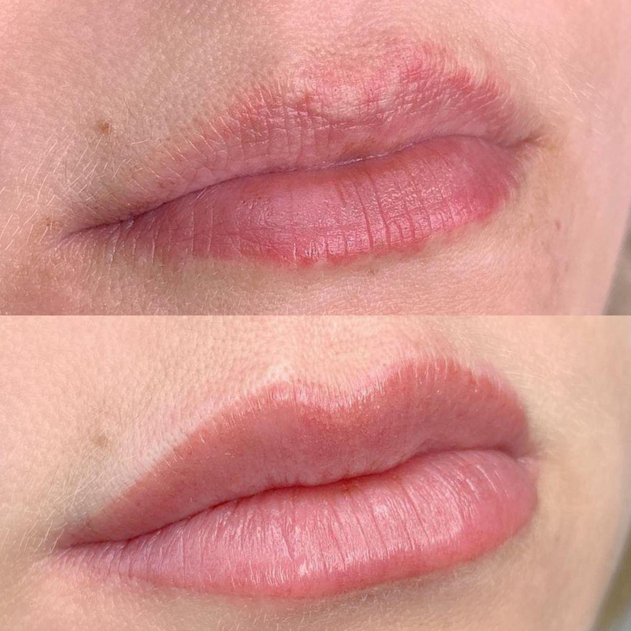 Акварельные губы в Днепре