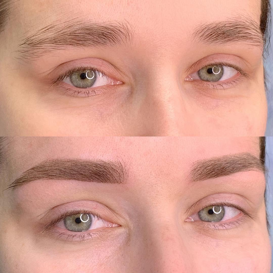 Перманентный макияж бровей в Днепре